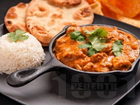 Ароматно и сочно пиле по индийски с джинджифил, зеленчуци и подправки - снимка на рецептата